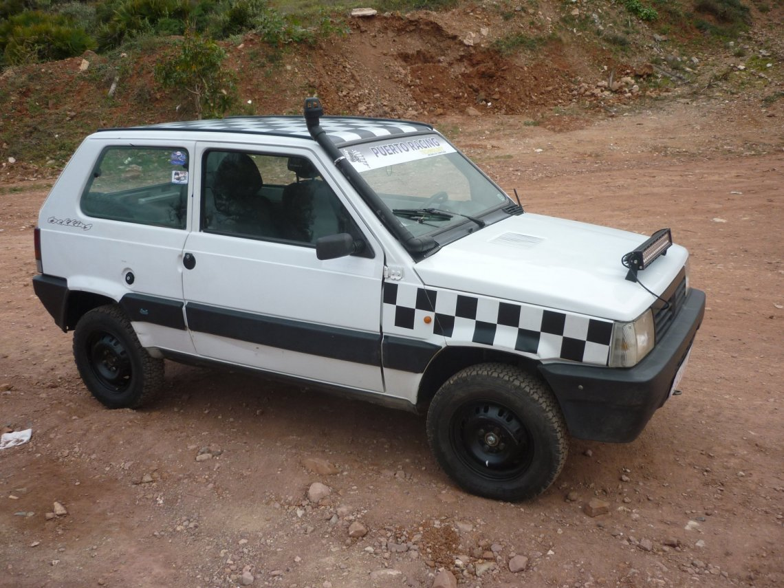 Fiat Panda Rally Trekking For Sale In Very Good Order